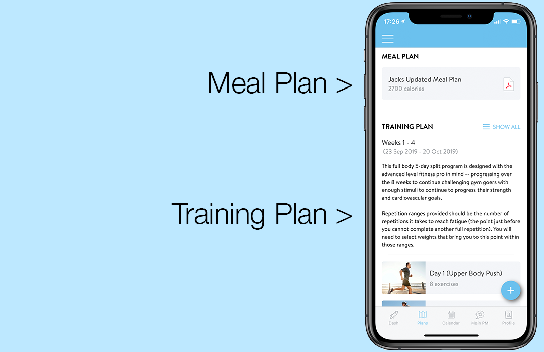 Fitness Training Avery's Body By Design App